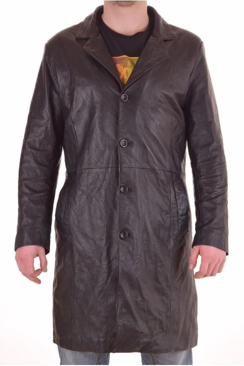 Черен мъжки шлифер 89.00