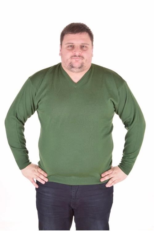 Макси мъжки пуловер с остро деколте 30.00