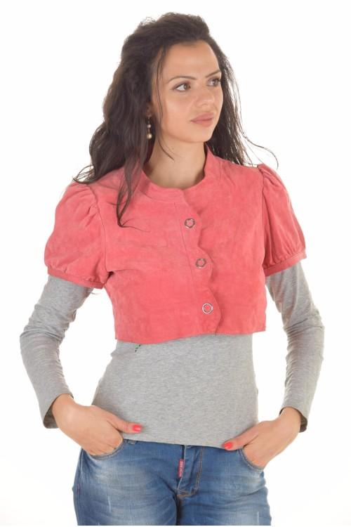 Късо дамскo якенце от естествена кожа 39.00
