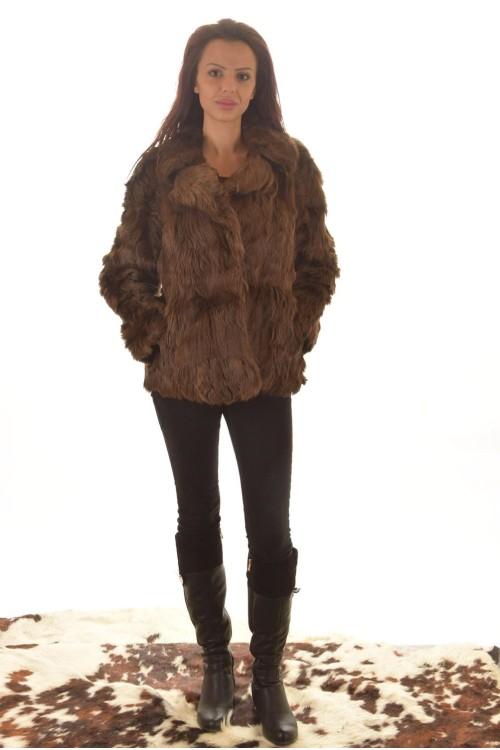 Палто от естествен косъм. 49.00