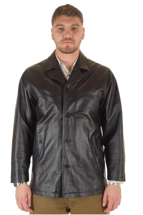 Мъжко яке от мека и плътна естествена кожа 87.00