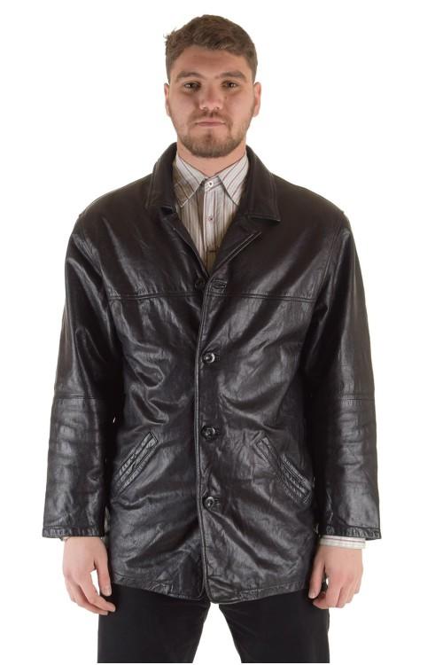 Мъжко яке от естествена кожа 74.00