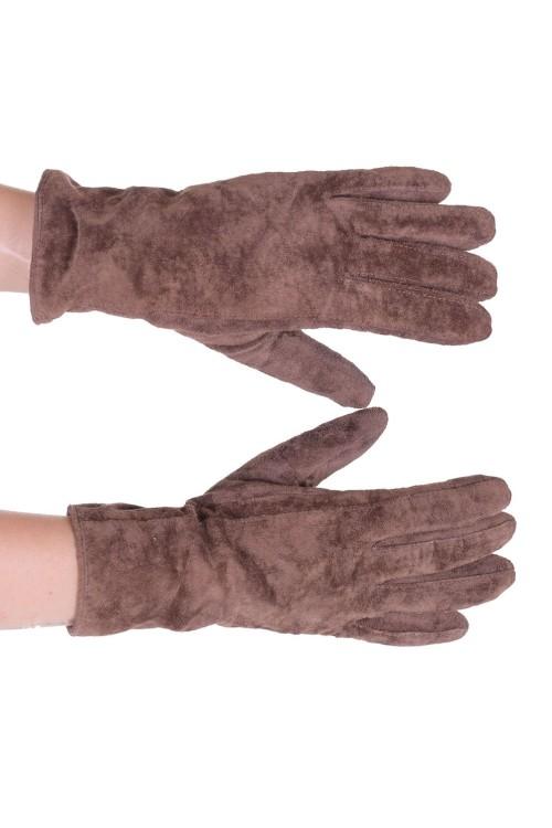 Велурени ръкавици от естествена кожа 12.00
