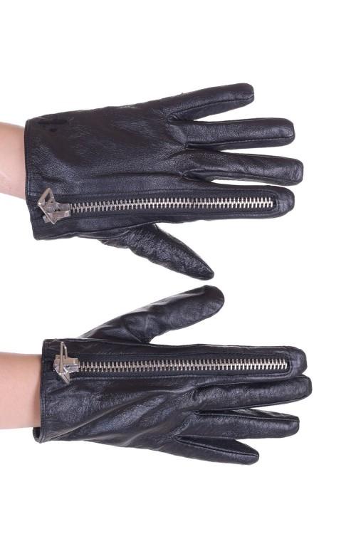 Екстравагантни дамски кожени ръкавици 35.00