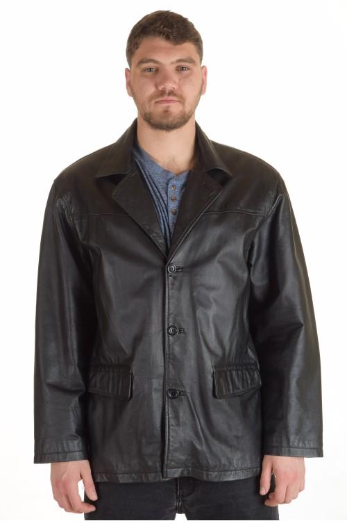 Мъжко сако от естествена кожа 77.00
