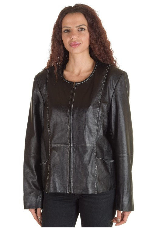 Хубаво дамско яке от естествена кожа 66.00