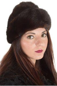 Първокласна дамска шапка от естествен косъм