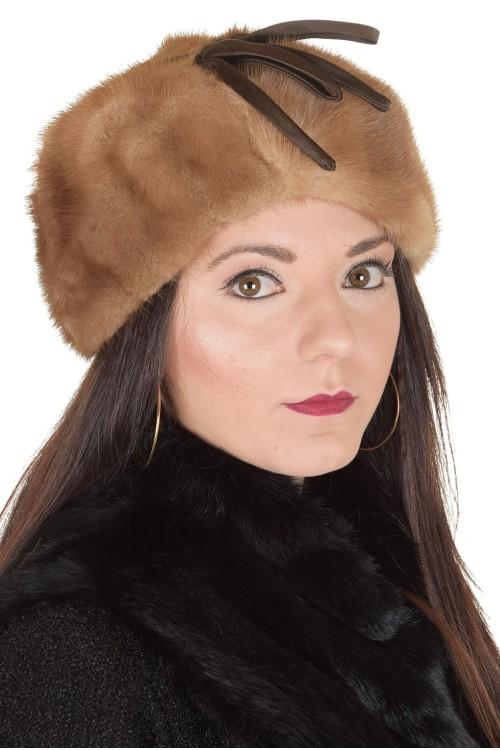Стилна дамска шапка от норка 29.00