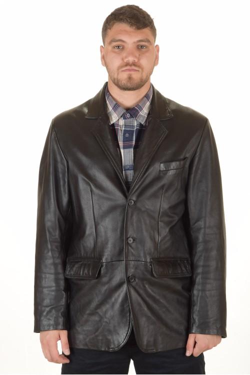 Модерно мъжко кожено сако 39.00
