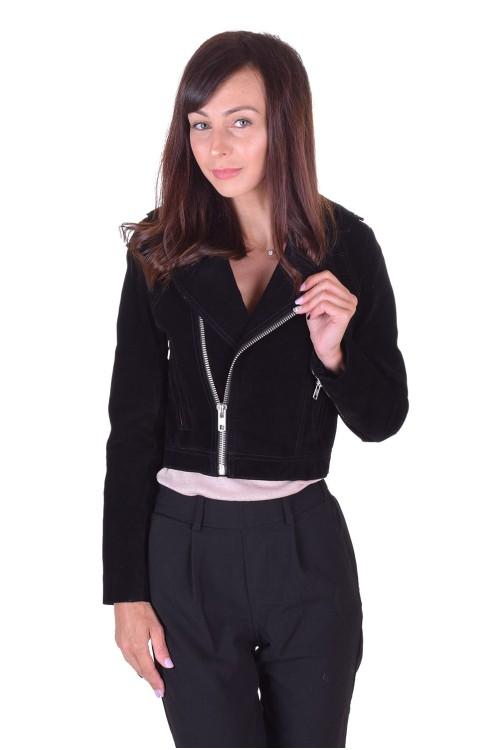 Страхотно дамско велурено яке от естествена кожа 49.00