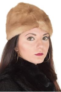 Страхотна дамска шапка от естествен косъм