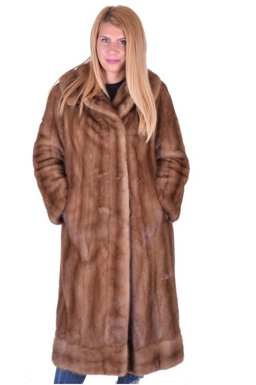 Красиво дамско палто от естествен косъм 380.00