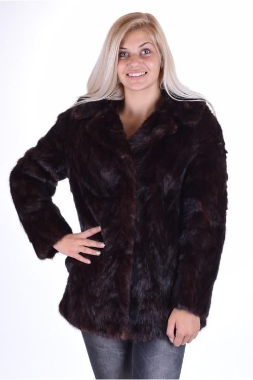 Отлично дамско палто от естествен косъм 239.00
