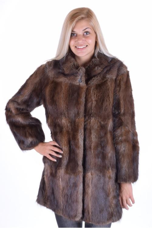 Красиво палто от ондатра 139.00