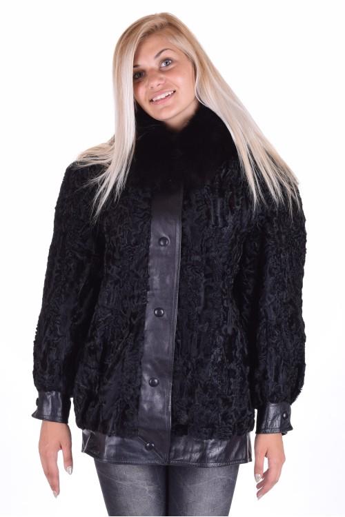 Кокетно палто от астраган 159.00