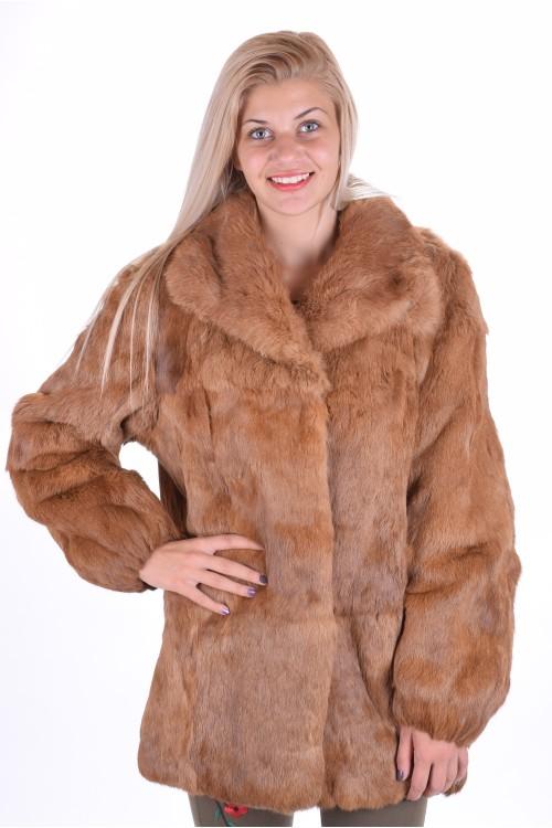 Изящно палто от заек 49.00
