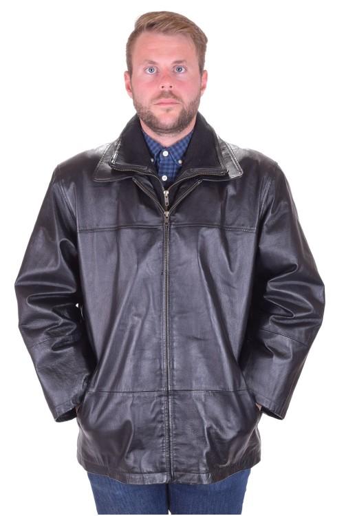 Отлично мъжко яке от естествена кожа 89.00
