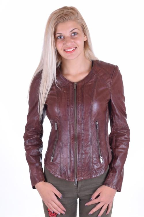 Кокетно дамско яке от естествена кожа 75.00