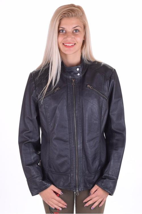 Черно яке от естествена кожа 66.00