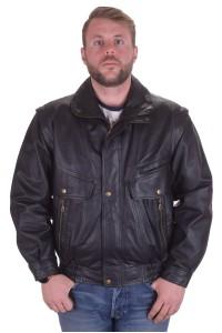 Брандово мъжко яке от естествена кожа