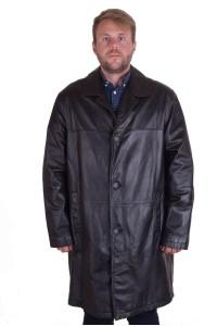 Модно мъжко яке от естествена кожа