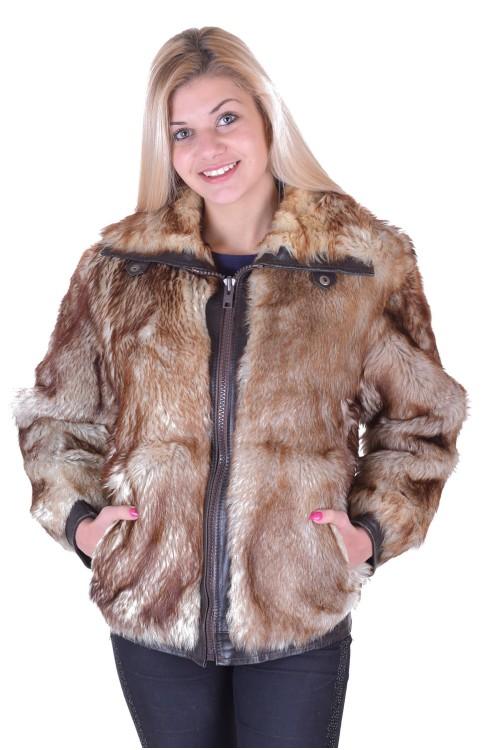 Дамско палто от естествен косъм 9.00