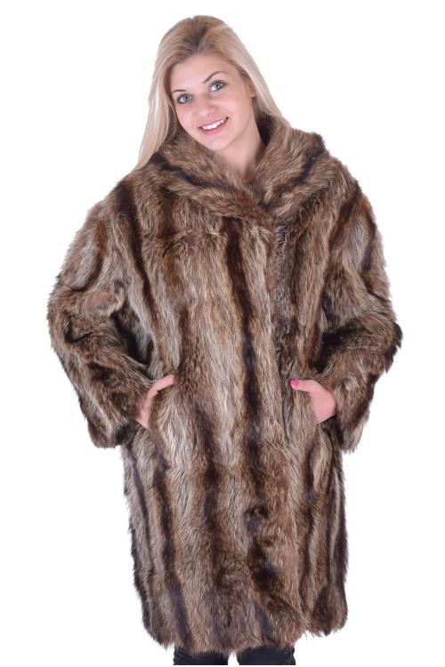Палто от естествен косъм 35.00
