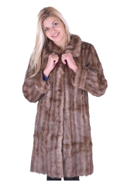Палто от естествен косъм 49.00