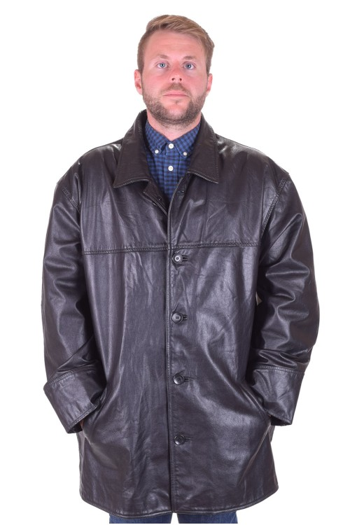 Черно яке естествена кожа 139.00