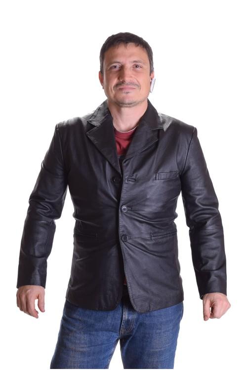 Хубаво мъжко яке от естествена кожа 85.00