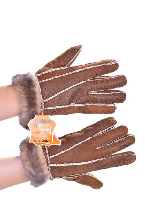 Дамски ръкавици от велурена кожа 18.00