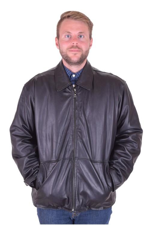 Черно яке естествена кожа 89.00