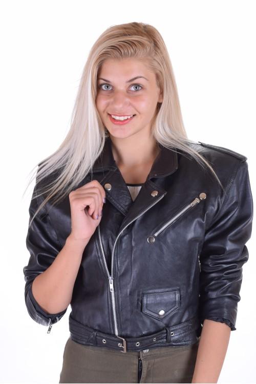 Дамско яке от естествена кожа 75.00