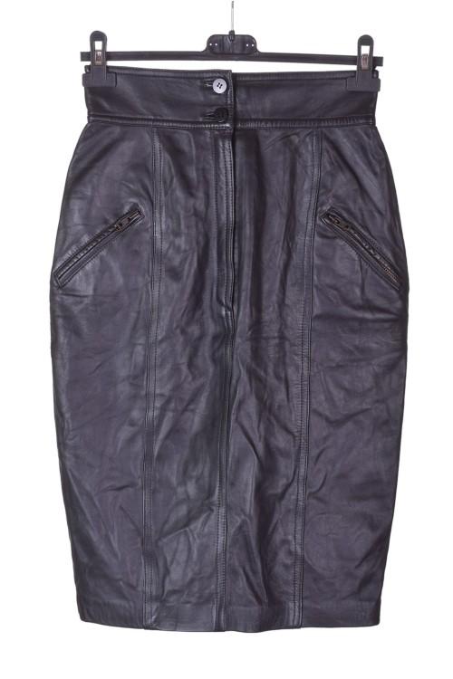 Елегантна кожена пола от естествена кожа 28.00