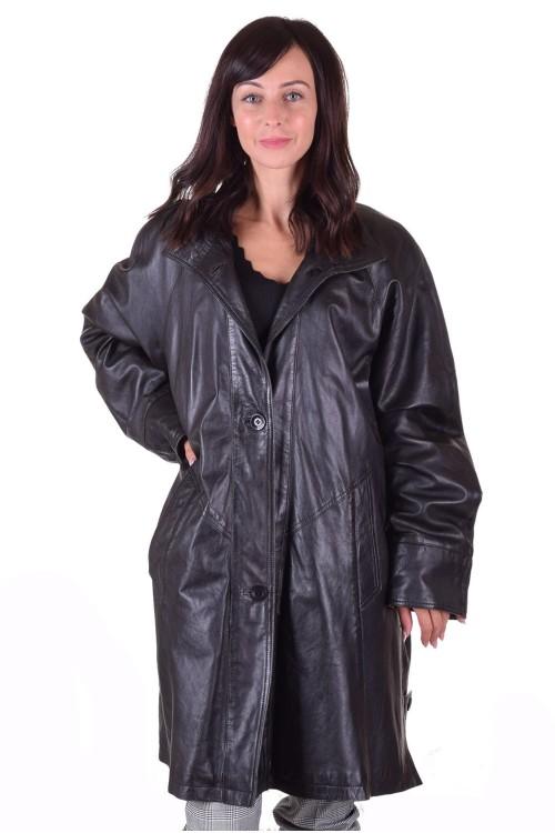 Дамско кожено палто от естествена кожа 49.00