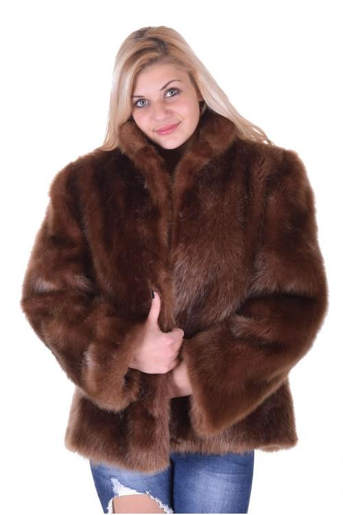 Палто от естествен косъм 59.00