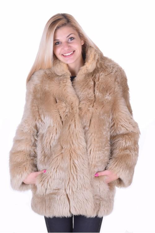 Палто от естествен косъм 45.00