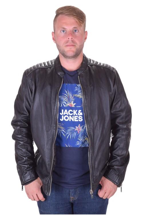 Модерно мъжко кожено яке от естествена кожа 79.00