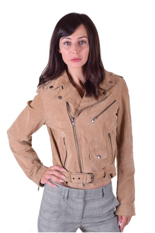 Брандово велурено яке от естествена кожа 39.00