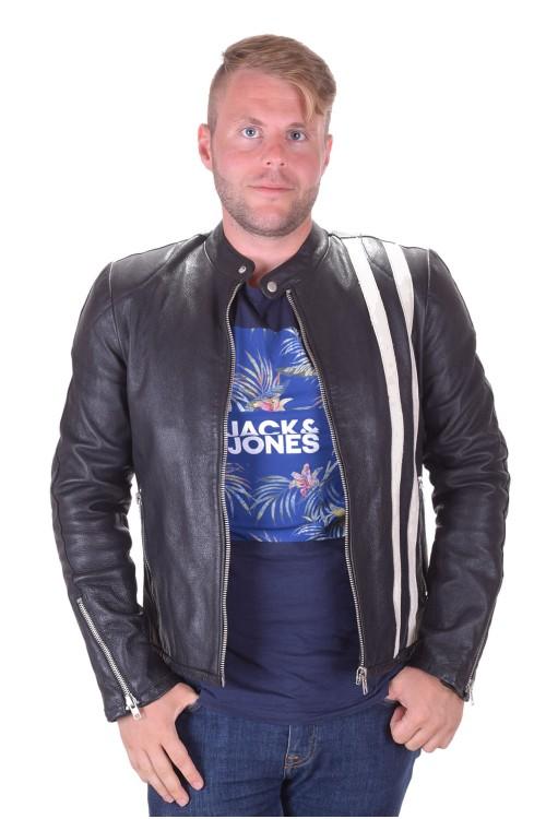Спортно мъжко яке от естествена кожа 69.00
