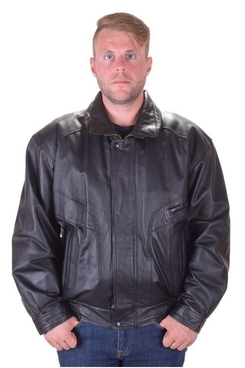 Отлично мъжко кожено яке от естествена кожа 95.00