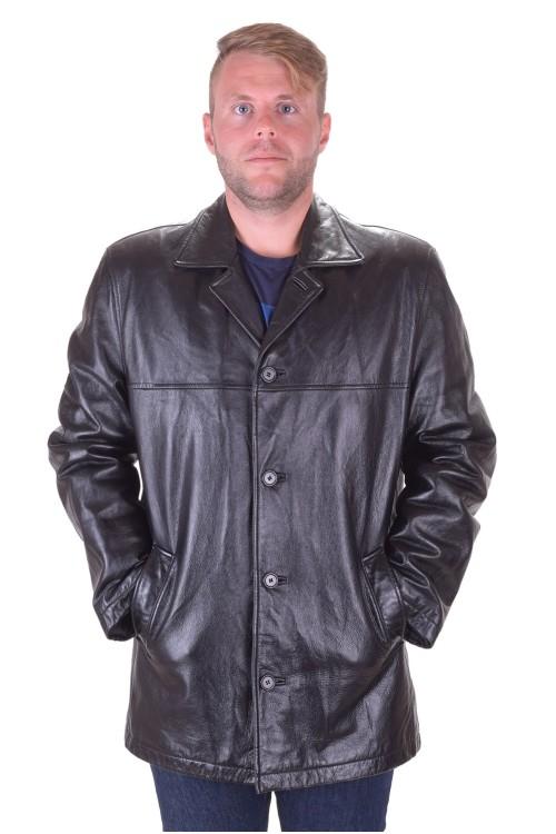 Чудесно черно кожено яке от естествена кожа 39.00