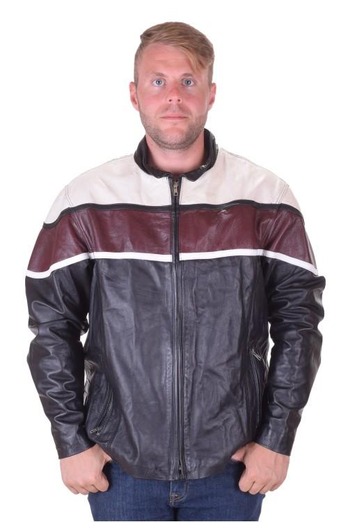 Спортно мъжко кожено яке от естествена кожа 75.00