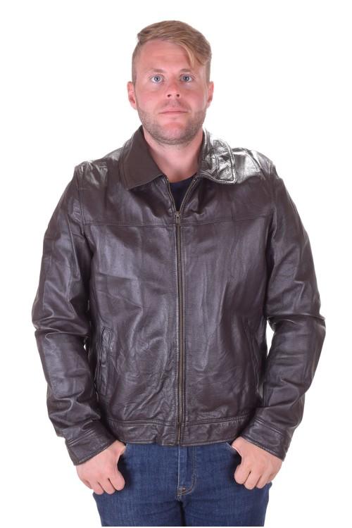 Класическо мъжко кожено яке от естествена кожа 49.00