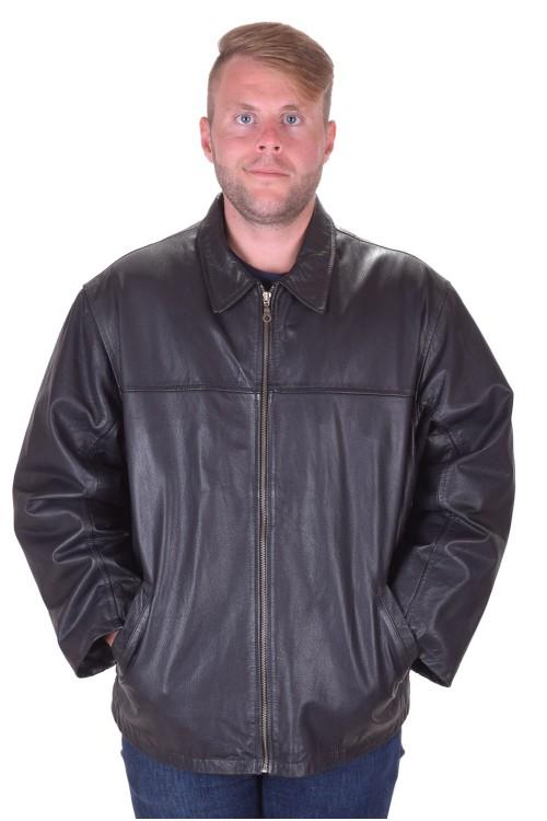 Страхотно мъжко кожено яке от естествена кожа 119.00