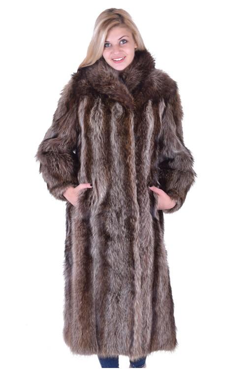 Палто от естествен косъм 189.00