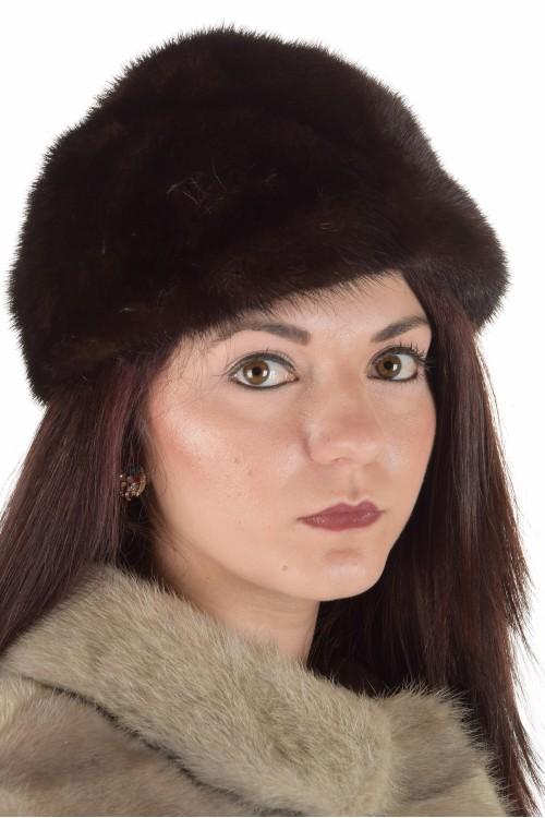 Страхотна дамска шапка от норка 29.00