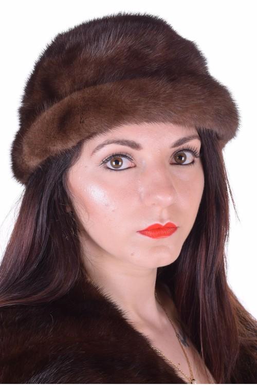 Стегната дамска шапка от норка 29.00