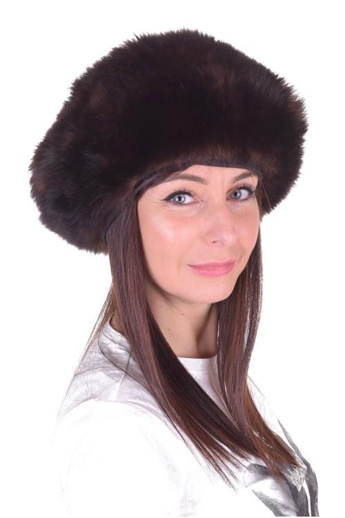 Хубава дамска шапка от естествен косъм 9.00