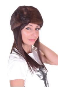 Дамска шапка от норка